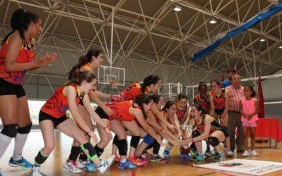 Campeonas de voleibol de la Región de Murcia