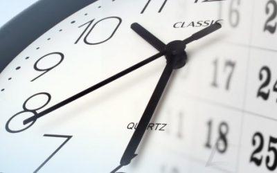 Información sobre cambios de horario