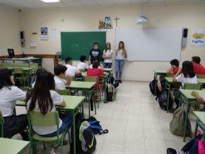 Visita alumnos de Primaria a ESO