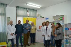 Inauguración aula práctica de farmacia
