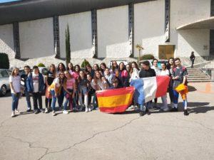 Visita alumnos franceses