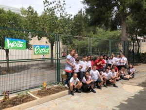 Primaria inaugura el huerto escolar